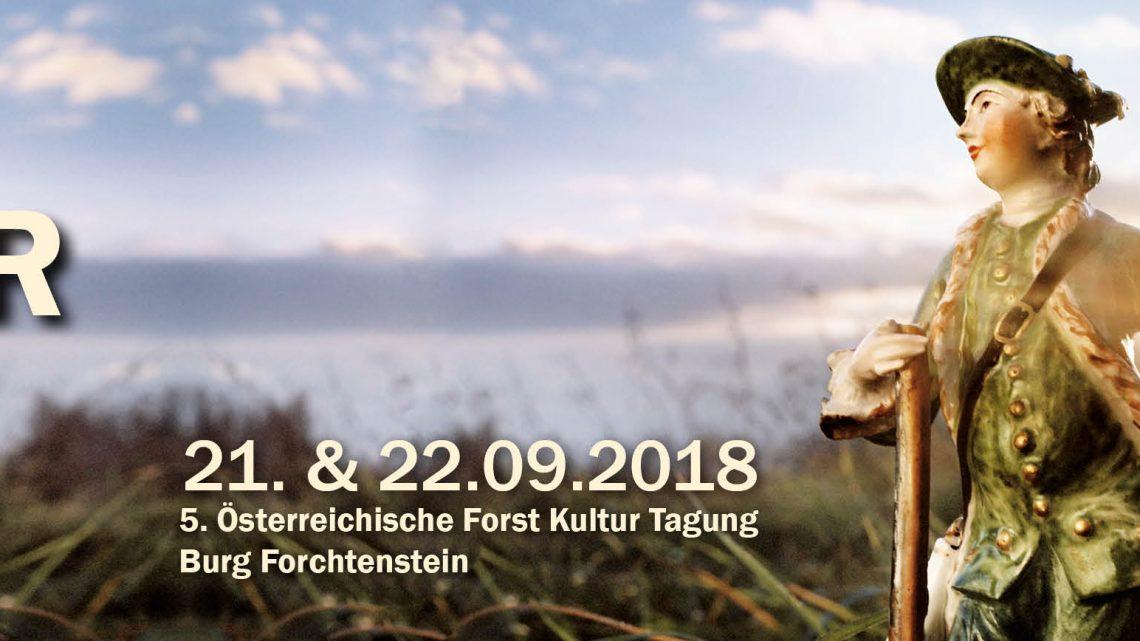 Forst- und Kultur-Tagung 2018: Jagdkultur und Wald